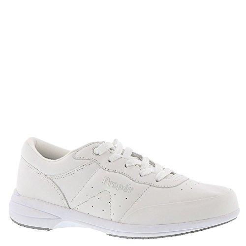(Propet Women's Washable Walker Walking Shoe, SR White, 8.5 N US)
