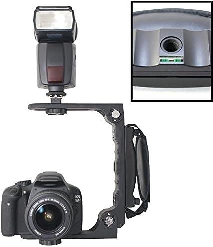 Dslr Blitzschiene Blitzhalter Wambo Winkelschiene Kamera
