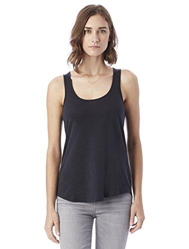 Alternative Women's Organic Pima Daily Tank Top, Black, Medium (Organic Cotton Tank)