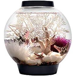 biOrb CLASSIC 15 Aquarium with LED Light - 4 Gallon, Black