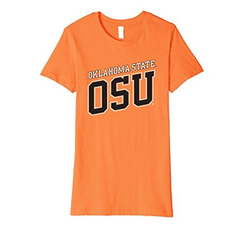 Womens Oklahoma State University Ncaa Womens T Shirt Osuc1005 Medium Orange
