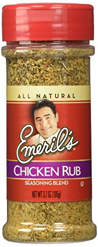 Emeril's Rub 3.7-4.72oz Container (Pack of 3) (Chicken 3.7oz)