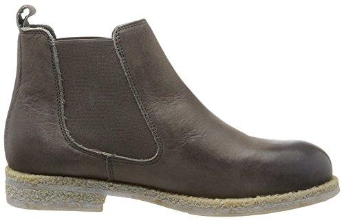 Nobrand Damen Draft Chelsea Boots Grau (grigio)