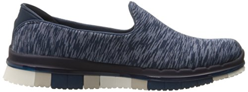 Skechers Performance Damen Go Flex Slip-On Wanderschuh Marine