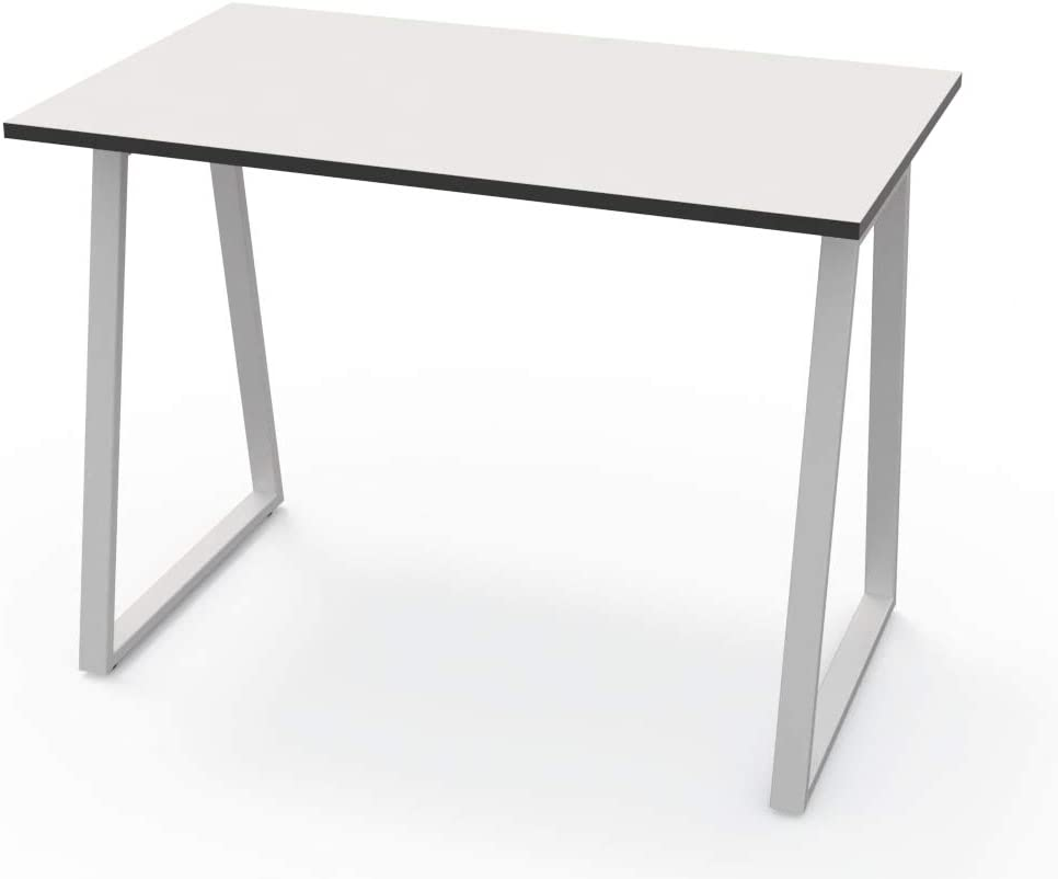 LEVIRA – Mesa, Escritorio, Leith - 100 x 60 x 74 - Blanco