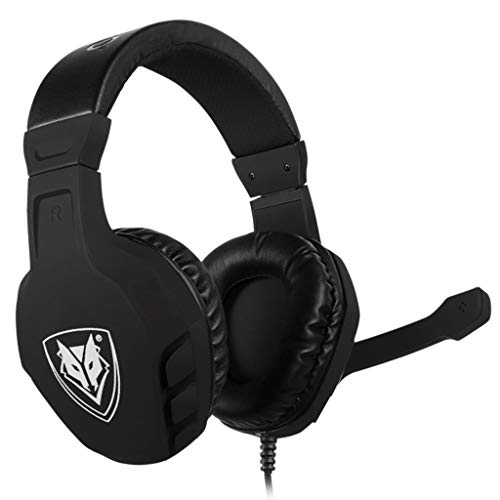 WANG XIN E-Sports Game Headset Subwoofer Earphones Computer Headset Headset for PUBG