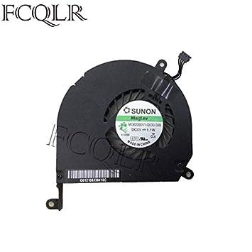 FCQLR Ventilador de la CPU del Ordenador portátil compatibles para ...