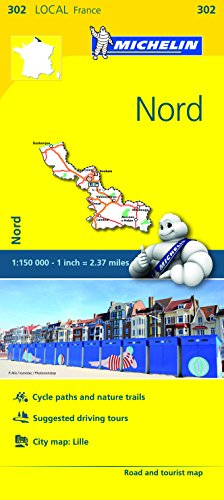 Michelin FRANCE: Nord Map 302 (Maps/Local (Michelin))
