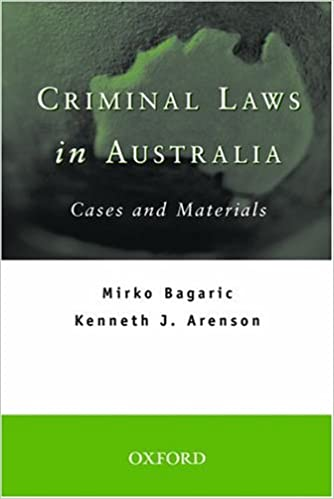 Download Criminal Laws in Australia: Cases and Materials PDF, azw (Kindle), ePub, doc, mobi