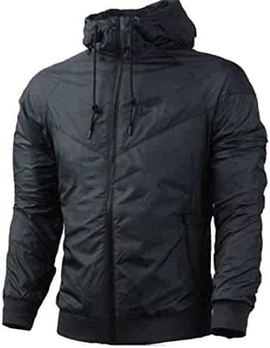M&S&W Mens Workout Color Stitching Fashion Side-Zipper Hoodies Pullover Sweatshirts Clothing