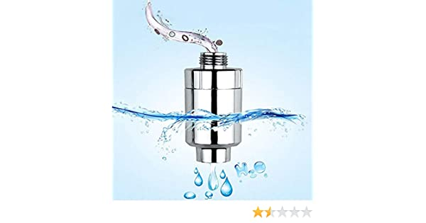 Filtro de ducha para baño, ShineBlue filtro de agua purificador de ...