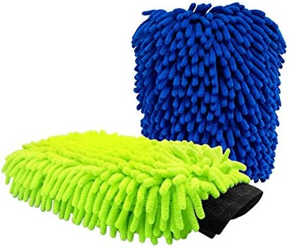 Green /& Blue NBSengo Extra Large CAR WASH MITT
