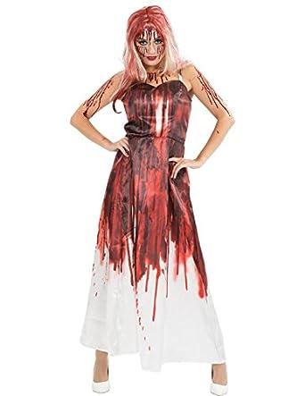 Carrie Prom Dress Fancy Dress Fancy Dress Costume Small/Medium