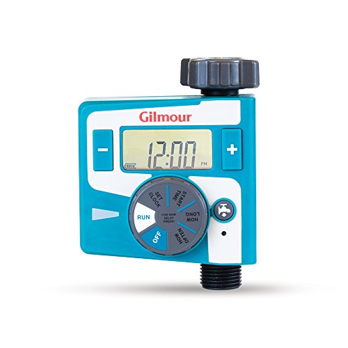 Gilmour Single Outlet Electronic Water Timer (Best Timer For Water Hose)