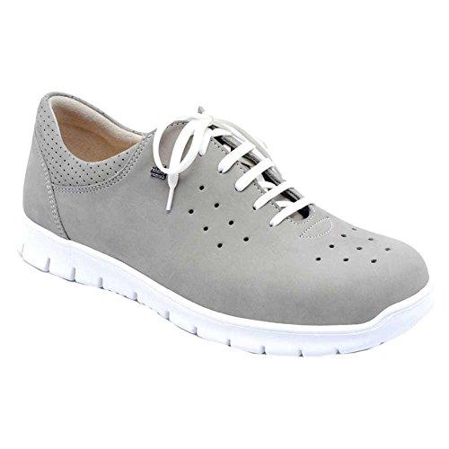 Finn Comfort Barletta Womens Fashion Sneakers Rock Nubuk xZGoAsC4f