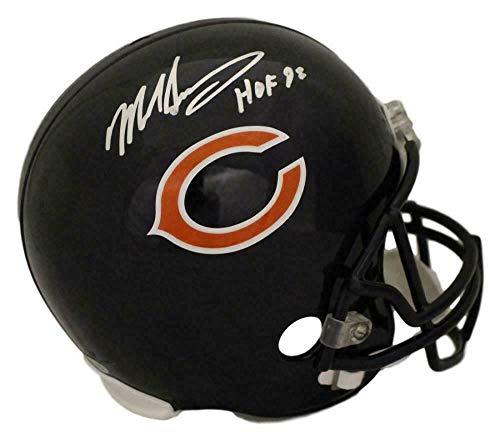 Autographed Mike Singletary Helmet - Replica HOF BAS 21966 - Beckett Authentication - Autographed NFL Helmets