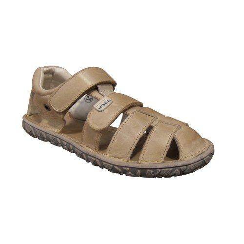Sandale Jungen Noel Leder beige (Gr. 27 bis 34), Beige