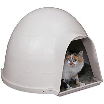 Amazon Com Waterproof Insulated Cedar Outdoor Cat House