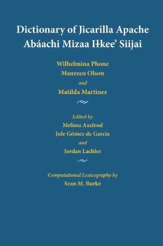 Dictionary of Jicarilla Apache: Abáachi Mizaa Ilkee' Siijai (Apache Languages and English Edition)