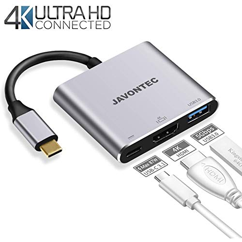 To And C 3 Port javontec 0 Power Hub Compatible hp Adapter Spectre Macbook Chromebook Delivery With Usb google Pro samsung Hdmi KclFuJ13T