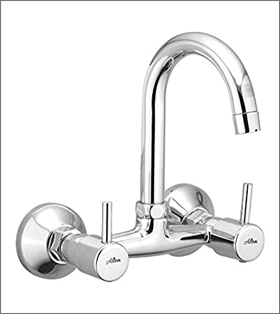 ALTON Grace 3770 Brass Sink Mixer With Swinging Spout/Wall Mounted (Chrome)