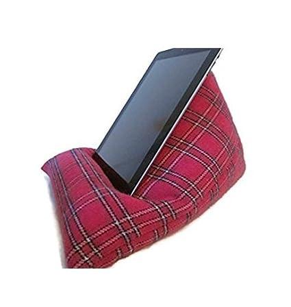 Cojín para iPad Tablet cojín e - Cojín rosa lana iPad Pro ...
