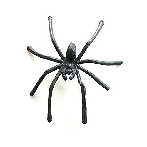 Halloween Party Decoration Glow Finger Ring Spider Toys for Party Luminous Insects Ring (Random) ()