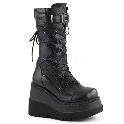 Demonia Women's Shaker-70 Calf-High Boot