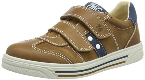 Primigi Boys'' PHU 33831 Low-Top Sneakers, Brown (Biscotto/Cuoio 3383100) 1 UK