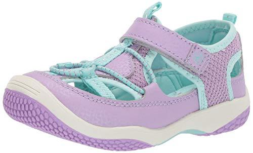 Stride Rite Marina Boy's/Girl's Water Play Sandal, Purple, 7.5 M US Toddler ()