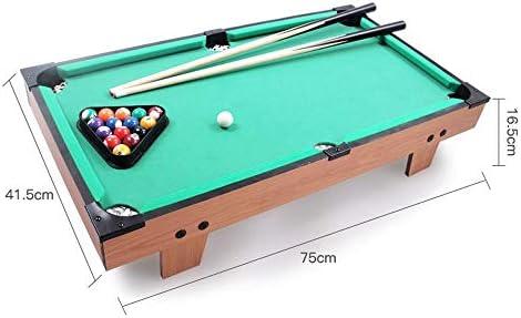 Jian E Juguetes - Mesa de Billar Grande de Madera - Juguetes para niños y niñas - 75x41.5x16.5cm: Amazon.es: Juguetes y juegos