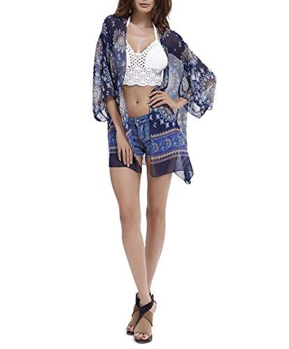 Yuson Girl Copricostumi Donna Sexy Costume da Bagno Estate Copricostumi e Parei