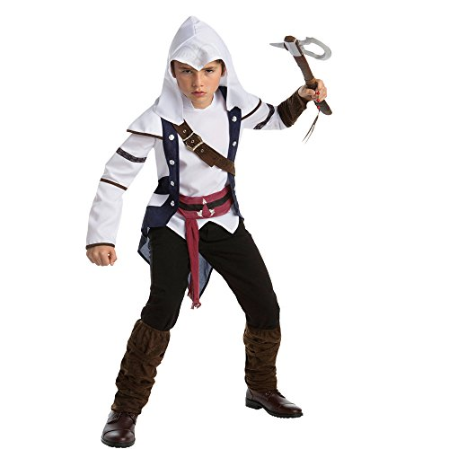 [Assassin's Creed Connor Classic Teen Costume, Size 14-16] (Teen Boy Costumes)