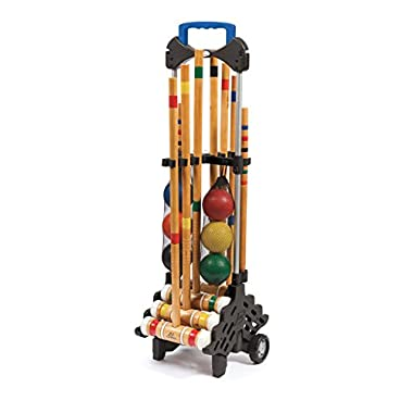 EastPoint Sports 6-Player Croquet Set with Caddy