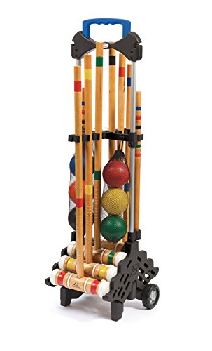 (EastPoint Sports 6-Player Croquet Set with Caddy)