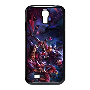 League Of Legends Skt T1 Lee Sin Samsung Galaxy S4 9500 Cell Phone Case Black Phone Accessories JV290G04