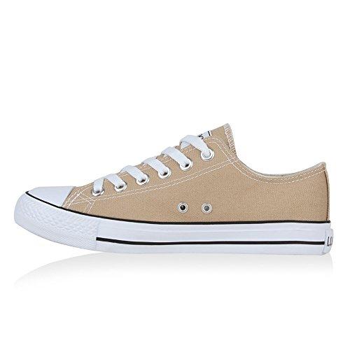 Stiefelparadies - Zapatillas Mujer, Color Blanco, Talla 38 EU