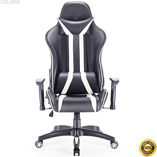 41dTiUt03tL - COLIBROX--Gaming Chair Racing High Back Reclining Chair Computer Swivel Office Desk Task,video game chairs ,living room accent chairs,new Racing Style Reclining Gaming Chair,arm chairs