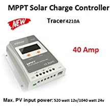 EPever-Tracer-A-40A-MPPT-4210A-solar-charge-controller-panel-regulateur-solaire No Import Fees
