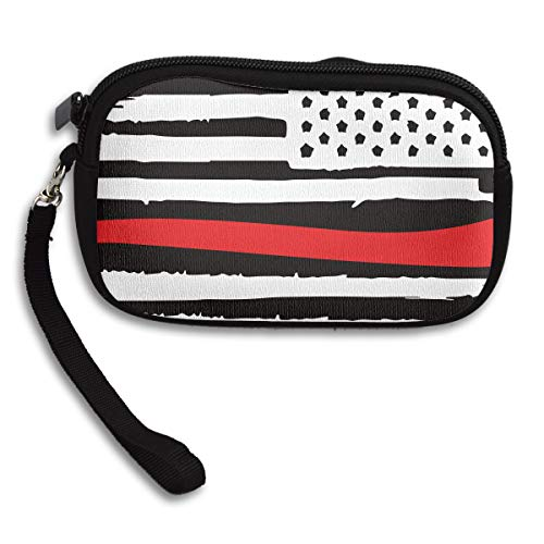 Portable Printing Bag Deluxe Purse Small American Receiving Firefighter Flag YqfaSwv