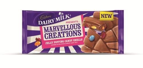 Cadbury Marvellous Creation Popping Shells