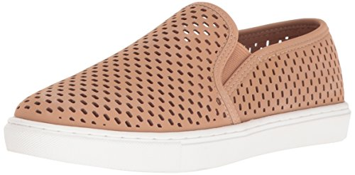 Steve Madden Women's Elouise Fashion Sneaker, Camel, 8.5 M US