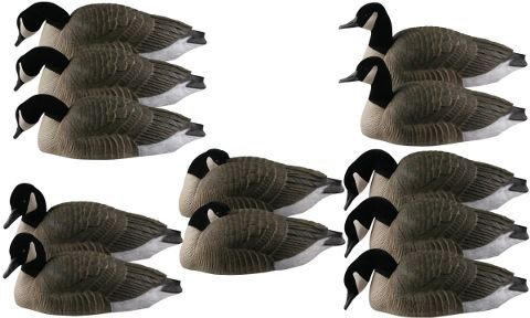Greenhead Gear Pro Grade Life Size Series Canada Goose Shell Decoys Harvester 12 Pack
