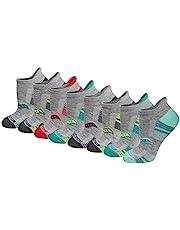 Saucony womens Performance Heel Tab Athletic Socks (8 & 16 Pairs)