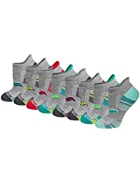 Women's 8-Pair Performance No-Show Sport Socks