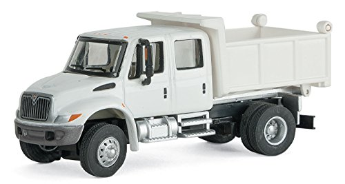 Used, MOW WHITE CREW CAB DUMP TRUCK for sale  Delivered anywhere in USA