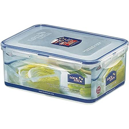 Lock&Lock 64-Fluid Ounce Rectangular Food Container, Tall, 7.9-Cup HPL818