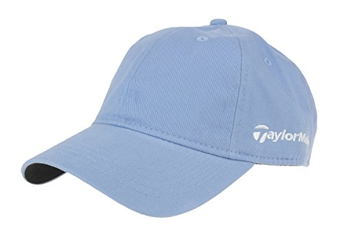 Taylormade Relaxed Cap (Taylormade Womens Front Hit 100% Cotton Twill Relaxed Cap (Light Blue))