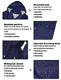 Women Raincoats Outdoor Waterproof Rain Jacket