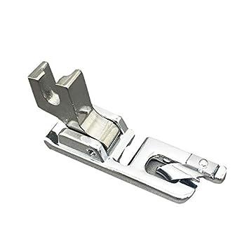 Para máquina de coser dobladillo 2 mm Hemmer pie tornillo de bajo filo para Austin Brother Toyota Janome cantante: Amazon.es: Hogar